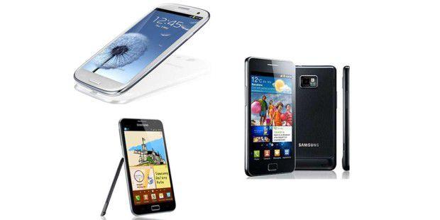 Samsung Galaxy S3, Note und S2: Wer in den USA jetzt umsteigt, erhält bares.