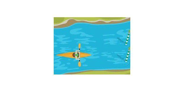 Google Doodle: Kajak-Fahren