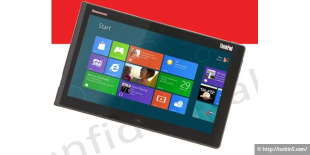 Lenovo-Tablet ThinkPad Tablet 2 mit Windows 8 Pro