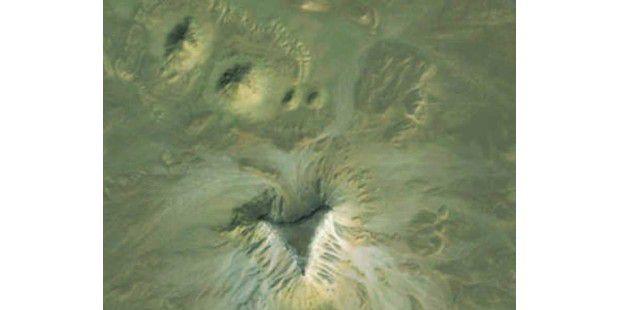 Zweiter Fundort auf Google Earth
