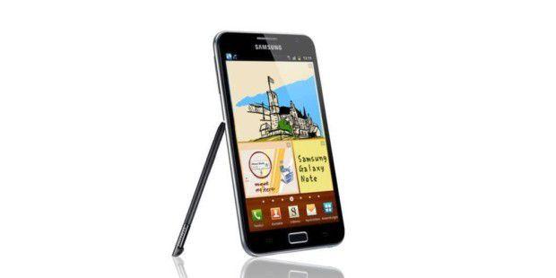 Das erste Samsung Galaxy Note