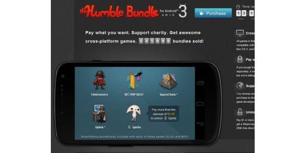 Das neue Humble Bundle für Android, Windows, Linux und Mac.