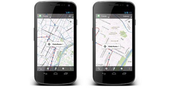 Maps für Android