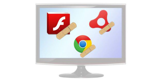 Updates für Flash, AIR und Chrome