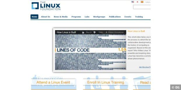 Linux Foundation hat neues Mitglied