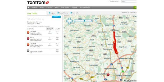 TomTom stellt TomTom HD Traffic 6.0 auf der IFA vor