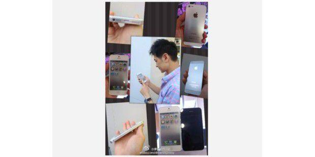 Die Bilder von Jimmy Lin zeigen angeblich das iPhone 5