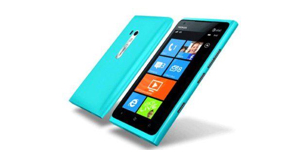 Das Nokia Lumia mit dem aktuellen Windows Phone-OS.