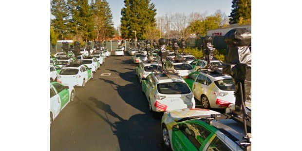 Neue Google-Streetview-Flotte am Start