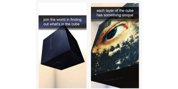 Curiosity – what's inside the cube