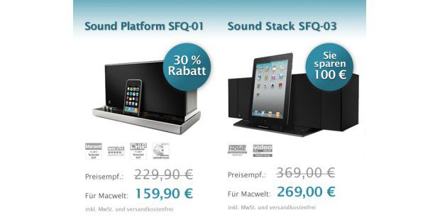 HiFi Soundsystem: Jetzt 100 Euro sparen (c)Soundfreaq