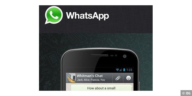 WhatsApp gibt es für iPhone, Android, Blackberry, Nokia und Windows Phone