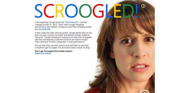Microsoft warnt vor der Shopping-Suche von Google
