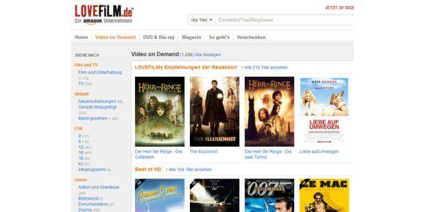 Lovefilm jetzt auch für Xbox 360 verfügbar