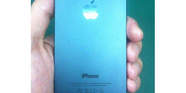 Foto vom angeblichen iPhone 5S