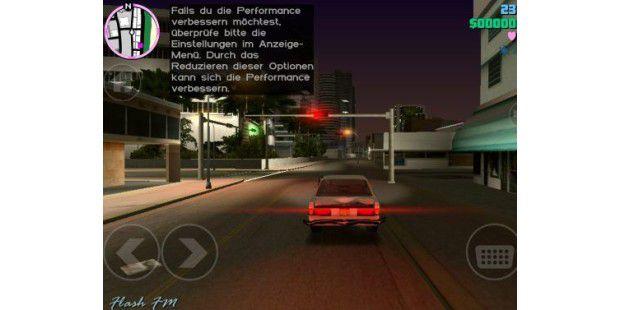 GTA Vice City auf dem Nexus 7 und Nexus 4 ausprobiert (Screenshots und Video)