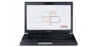 Toshiba - 14-Zoll-Business-Notebook mit 1600er-Display