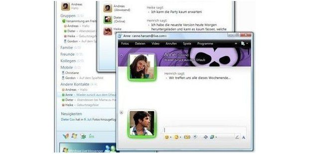 Hat noch knapp zwei Monate: Windows Live Messenger