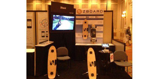ZBoard auf der CES 2013