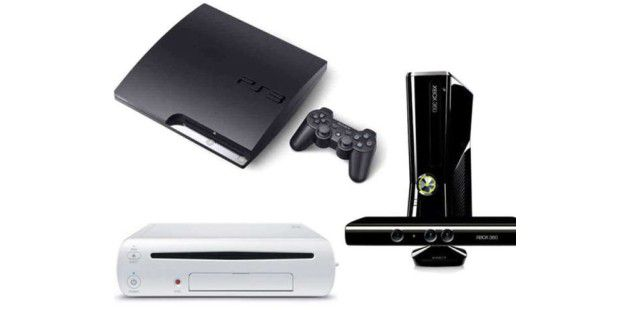 Xbox 360, Playstation 3, Wii
