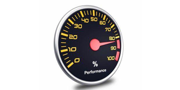 Browser im Geschwindigkeitstest