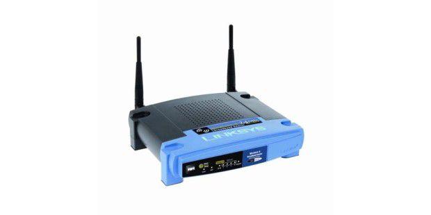 Linksys-Router mit Schwachstelle