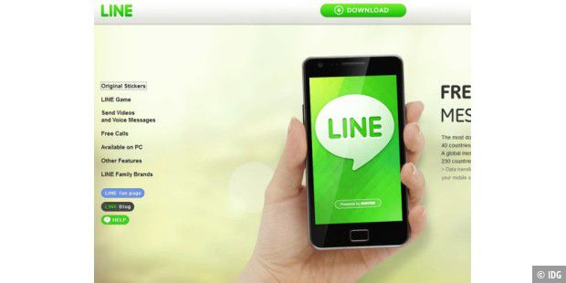 Chat-Plattform Line