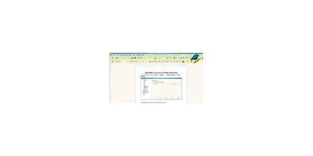 LibreOffice 4.0 mit Unterstützung für Firefox-Themes
