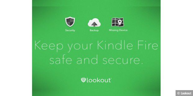 Lookout für Amazon Kindle Fire