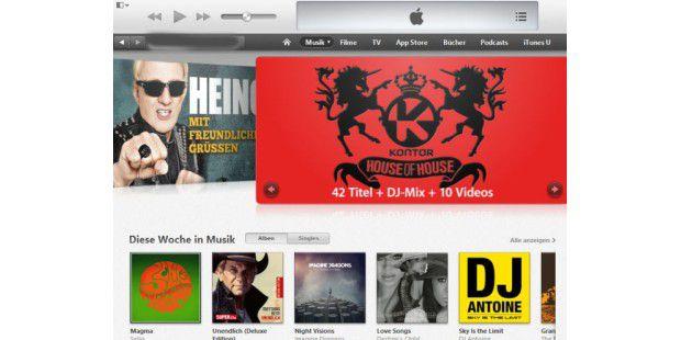 Im iTunes Store stehen 26 Millionen Songs zum Download bereit