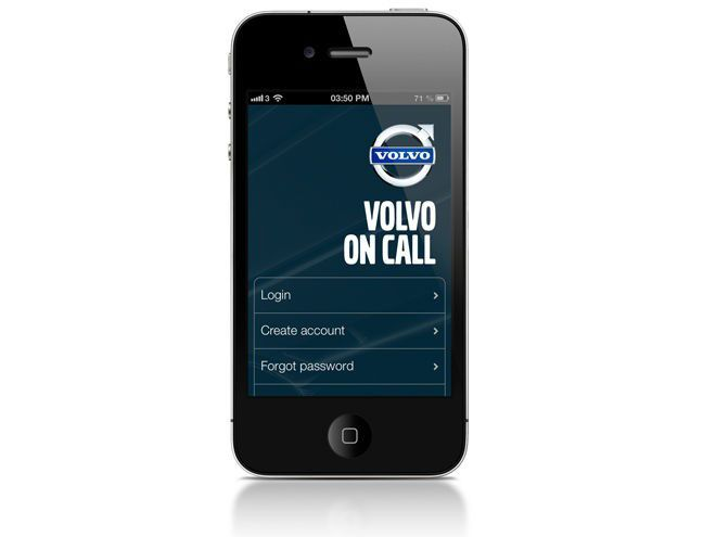 volvo berarbeitet volvo on call app pc welt. Black Bedroom Furniture Sets. Home Design Ideas