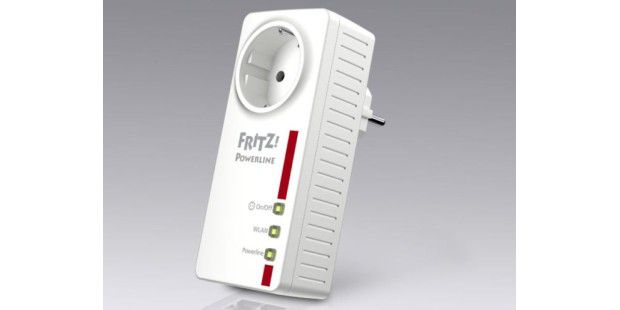 Fritz!Powerline 546E vereint Powerline, WLAN & Hausautomation