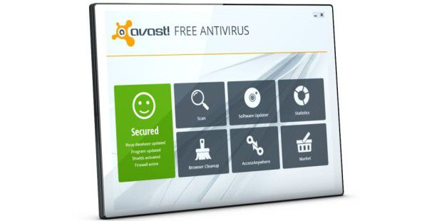 avast Free Antivirus in Version 8