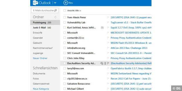 how to use skydrive in outlook