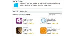Neu: Newsletter mit allen Windows 8 App-Tests