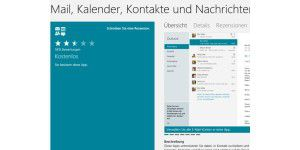 Windows-8-Apps Mail, Kalender & Kontakte in neuer Version