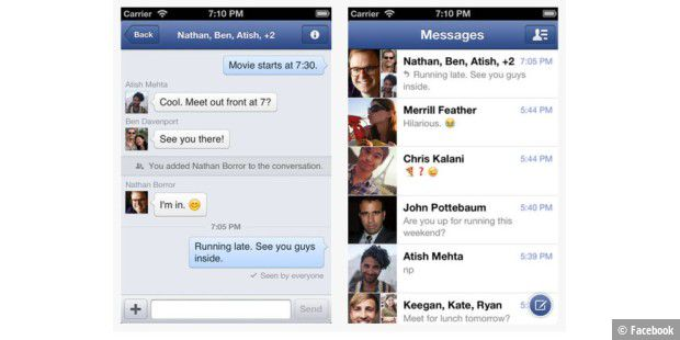 Facebook Messenger App ab sofort mit VoIP-Support