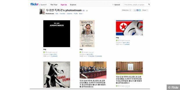 Anonymous kapert nordkoreanischen Flickr-Account