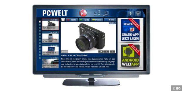 pc welt smart tv app ab sofort verf gbar pc welt. Black Bedroom Furniture Sets. Home Design Ideas