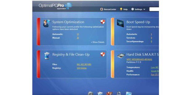 Neuer Download im Archiv der PC-WELT: OptimalPC Basic