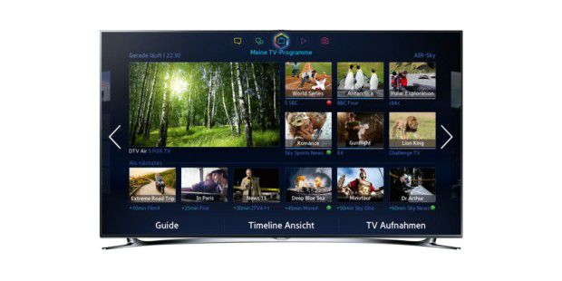 Samsung Smart-TV-Serien F7090 / F8090.