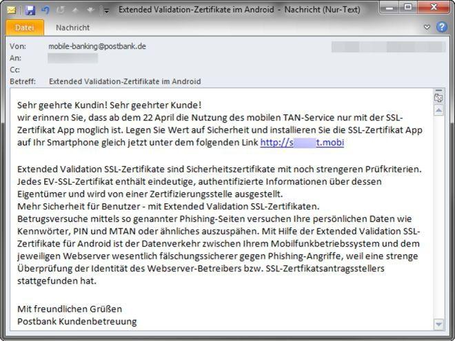 Malware als Sicherheitszertifikat für Android getarnt - PC-WELT