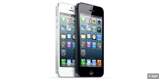 Apples iPhone 5 bekommt ein Firmware-Update