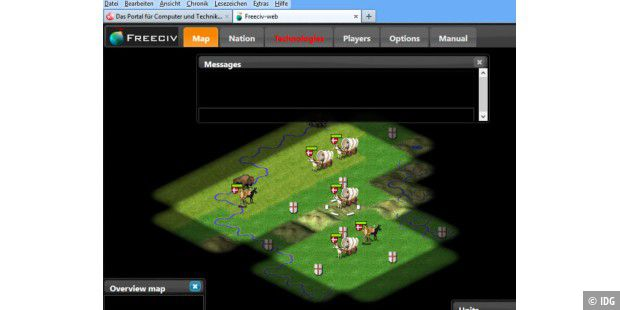 HTML5-Version von Freeciv