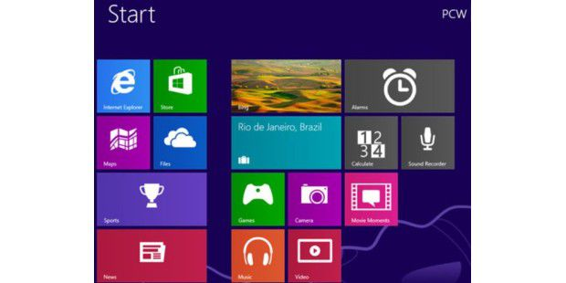PC-WELT Screenshot von Windows 8.1