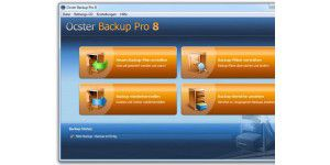 Ocster Backup Pro 8 mit neuer Backup-Technologie
