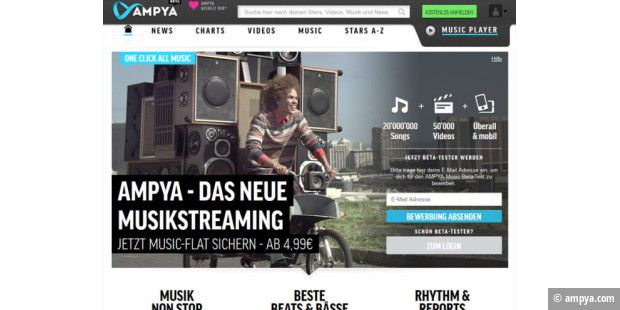 Ampya startet in die Beta-Phase