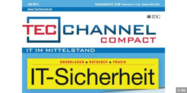 Neu! TecChannel-Compact 5/2013 - IT-Sicherheit