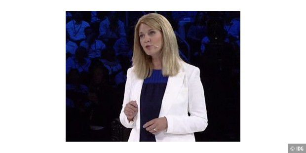 Tami Reller, Microsoft Corporate Vice President and Chief Marketing Officer for Windows