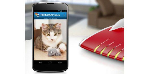 Fritz!App Cam macht Smartphone & Tablet zur Webcam